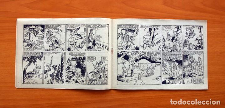 Tebeos: Carlos el intrépido nº 6, El valle de los hombres verdes - Editorial Hispano Americana 1942 - Foto 5 - 98136407