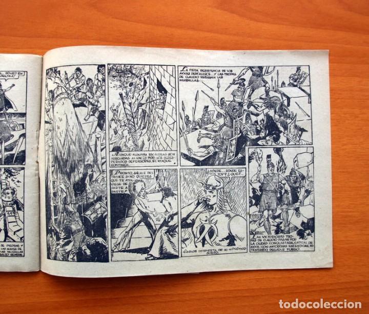 Tebeos: Carlos el intrépido nº 6, El valle de los hombres verdes - Editorial Hispano Americana 1942 - Foto 6 - 98136407