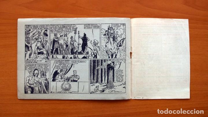 Tebeos: Carlos el intrépido nº 6, El valle de los hombres verdes - Editorial Hispano Americana 1942 - Foto 7 - 98136407