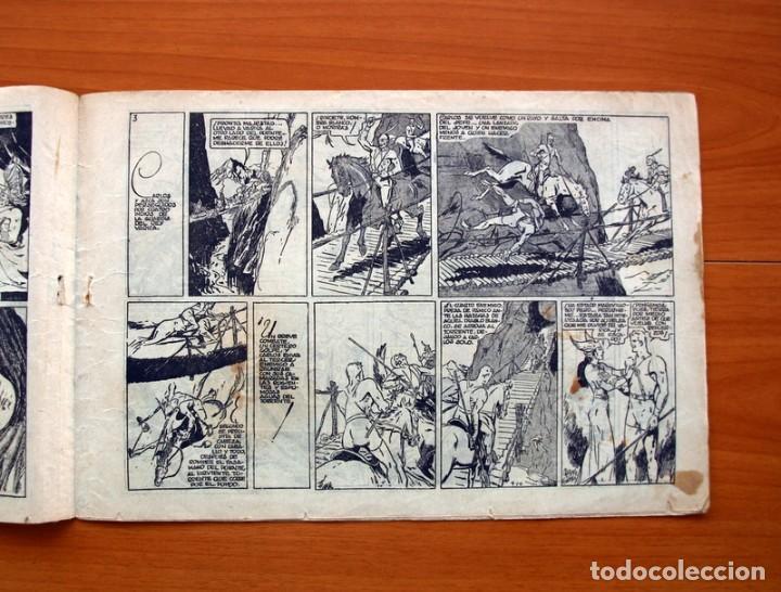 Tebeos: Carlos el intrépido, nº 9, La estratagema - Editorial Hispano Americana 1942 - Tamaño 21x31 - Foto 3 - 98136747