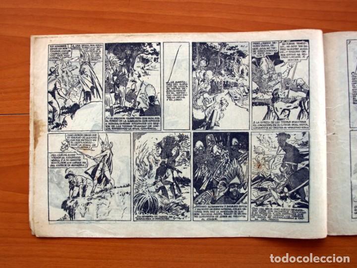 Tebeos: Carlos el intrépido, nº 9, La estratagema - Editorial Hispano Americana 1942 - Tamaño 21x31 - Foto 4 - 98136747