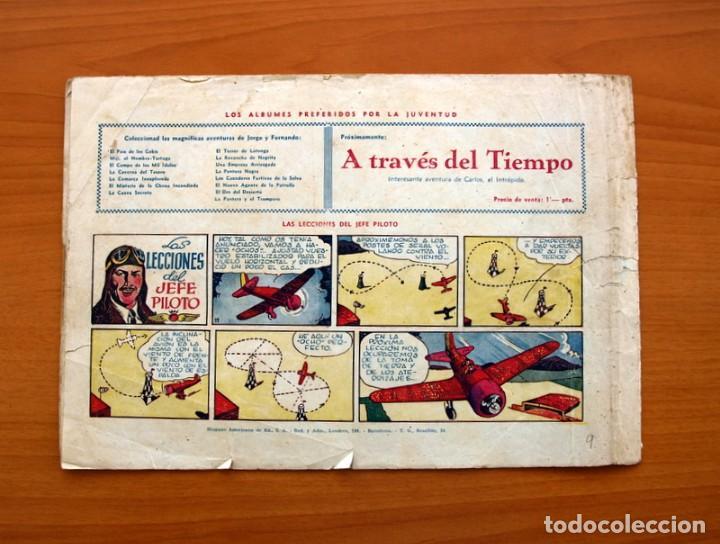 Tebeos: Carlos el intrépido, nº 9, La estratagema - Editorial Hispano Americana 1942 - Tamaño 21x31 - Foto 6 - 98136747
