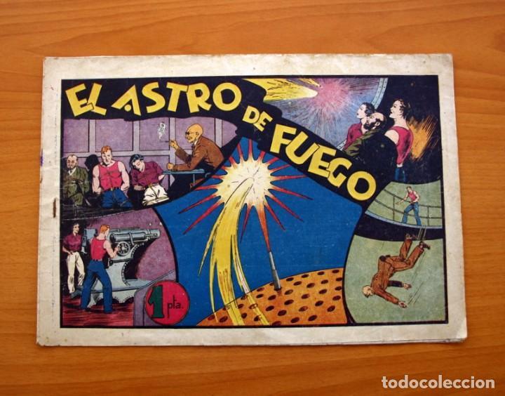 CARLOS EL INTRÉPIDO, Nº 15 EL ASTRO DE FUEGO - EDITORIAL HISPANO AMERICANA 1942 - TAMAÑO 21X31 (Tebeos y Comics - Hispano Americana - Carlos el Intrépido)