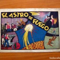 Tebeos: CARLOS EL INTRÉPIDO, Nº 15 EL ASTRO DE FUEGO - EDITORIAL HISPANO AMERICANA 1942 - TAMAÑO 21X31. Lote 98136907