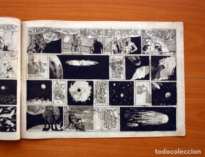 Tebeos: Carlos el intrépido, nº 15 El astro de fuego - Editorial Hispano Americana 1942 - Tamaño 21x31 - Foto 3 - 98136907