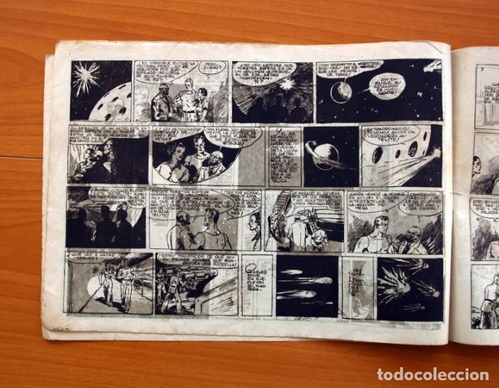 Tebeos: Carlos el intrépido, nº 15 El astro de fuego - Editorial Hispano Americana 1942 - Tamaño 21x31 - Foto 4 - 98136907