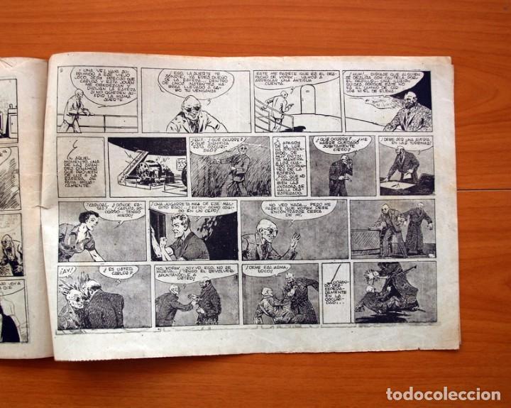 Tebeos: Carlos el intrépido, nº 15 El astro de fuego - Editorial Hispano Americana 1942 - Tamaño 21x31 - Foto 5 - 98136907
