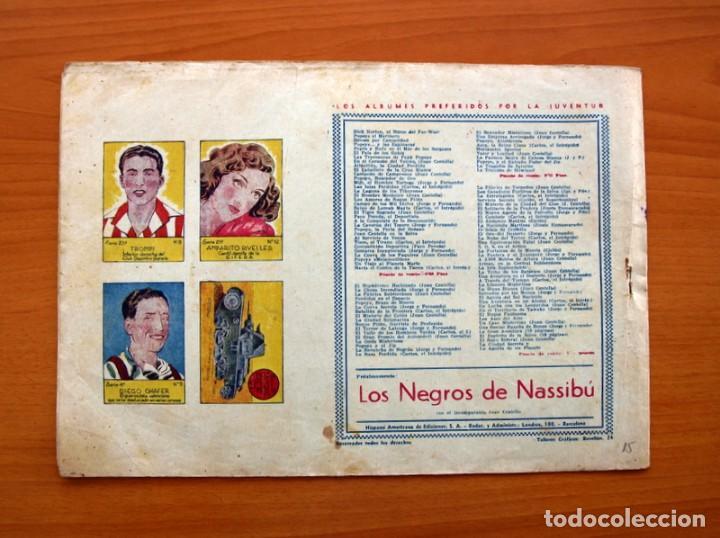 Tebeos: Carlos el intrépido, nº 15 El astro de fuego - Editorial Hispano Americana 1942 - Tamaño 21x31 - Foto 7 - 98136907