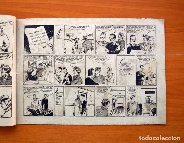 Tebeos: Carlos el intrépido, nº 19 Perdidos en el Atlántico - Editorial Hispano Americana 1942- Tamaño 21x31 - Foto 3 - 98137199