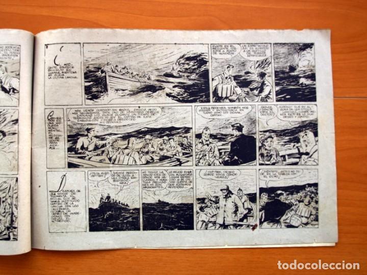 Tebeos: Carlos el intrépido, nº 19 Perdidos en el Atlántico - Editorial Hispano Americana 1942- Tamaño 21x31 - Foto 5 - 98137199