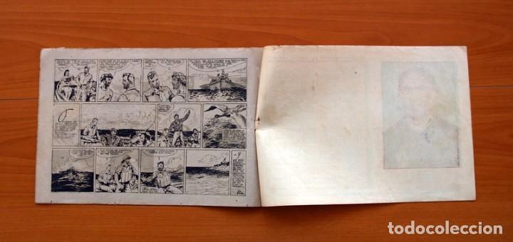 Tebeos: Carlos el intrépido, nº 19 Perdidos en el Atlántico - Editorial Hispano Americana 1942- Tamaño 21x31 - Foto 6 - 98137199