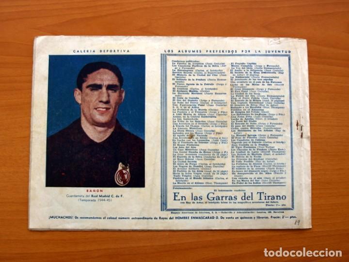 Tebeos: Carlos el intrépido, nº 19 Perdidos en el Atlántico - Editorial Hispano Americana 1942- Tamaño 21x31 - Foto 7 - 98137199