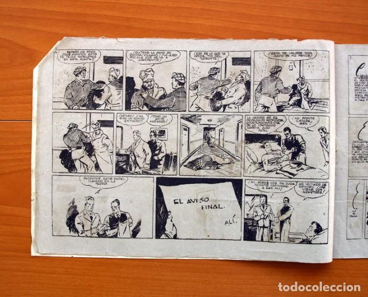 Tebeos: Carlos el intrépido, nº 19 Perdidos en el Atlántico - Editorial Hispano Americana 1942- Tamaño 21x31 - Foto 3 - 98137291