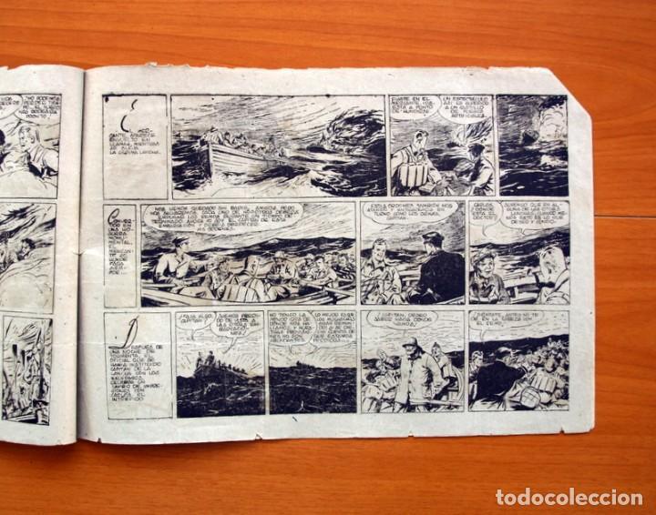 Tebeos: Carlos el intrépido, nº 19 Perdidos en el Atlántico - Editorial Hispano Americana 1942- Tamaño 21x31 - Foto 4 - 98137291
