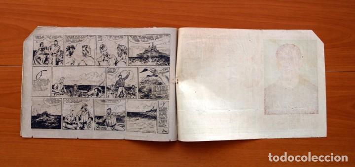 Tebeos: Carlos el intrépido, nº 19 Perdidos en el Atlántico - Editorial Hispano Americana 1942- Tamaño 21x31 - Foto 6 - 98137291