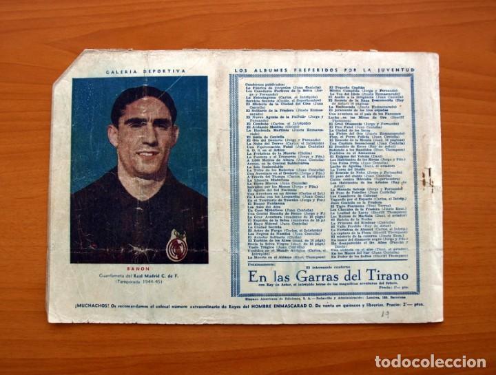 Tebeos: Carlos el intrépido, nº 19 Perdidos en el Atlántico - Editorial Hispano Americana 1942- Tamaño 21x31 - Foto 7 - 98137291