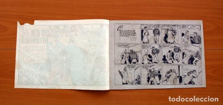 Tebeos: Carlos el intrépido, nº 19 Perdidos en el Atlántico - Editorial Hispano Americana 1942- Tamaño 21x31 - Foto 2 - 98137431