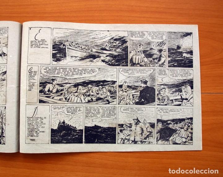 Tebeos: Carlos el intrépido, nº 19 Perdidos en el Atlántico - Editorial Hispano Americana 1942- Tamaño 21x31 - Foto 4 - 98137431
