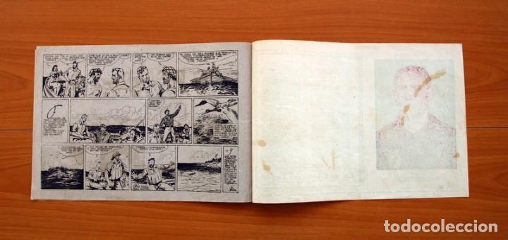 Tebeos: Carlos el intrépido, nº 19 Perdidos en el Atlántico - Editorial Hispano Americana 1942- Tamaño 21x31 - Foto 7 - 98137431