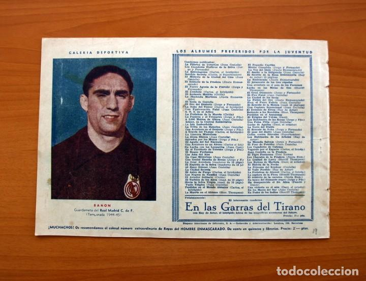 Tebeos: Carlos el intrépido, nº 19 Perdidos en el Atlántico - Editorial Hispano Americana 1942- Tamaño 21x31 - Foto 8 - 98137431