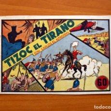 Tebeos: CARLOS EL INTRÉPIDO, Nº 3, TIZOC EL TIRANO - EDITORIAL HISPANO AMERICANA 1942 - TAMAÑO 16X24'5. Lote 98137711