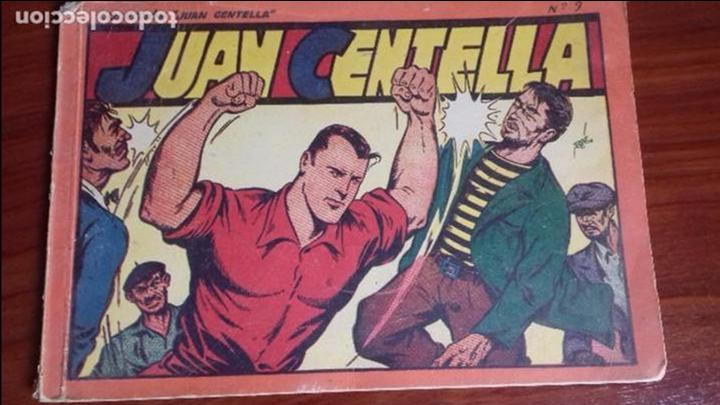 JUAN CENTELLA TOMO ROJO 9,ANTIGUO. (Tebeos y Comics - Hispano Americana - Juan Centella)