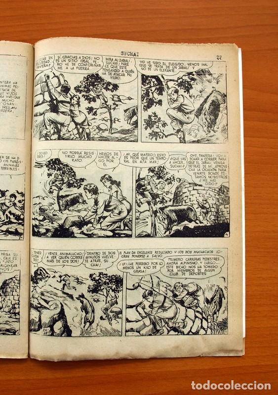 Tebeos: Suchai, nº 26 - Editorial Hispano Americana 1953 - Tamaño 24x17 - Foto 5 - 98182887
