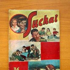 Tebeos: SUCHAI, Nº 24 - EDITORIAL HISPANO AMERICANA 1953 - TAMAÑO 24X17. Lote 98182931