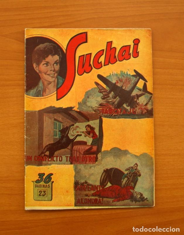 SUCHAI, Nº 23 - EDITORIAL HISPANO AMERICANA 1953 - TAMAÑO 24X17 (Tebeos y Comics - Hispano Americana - Suchai)