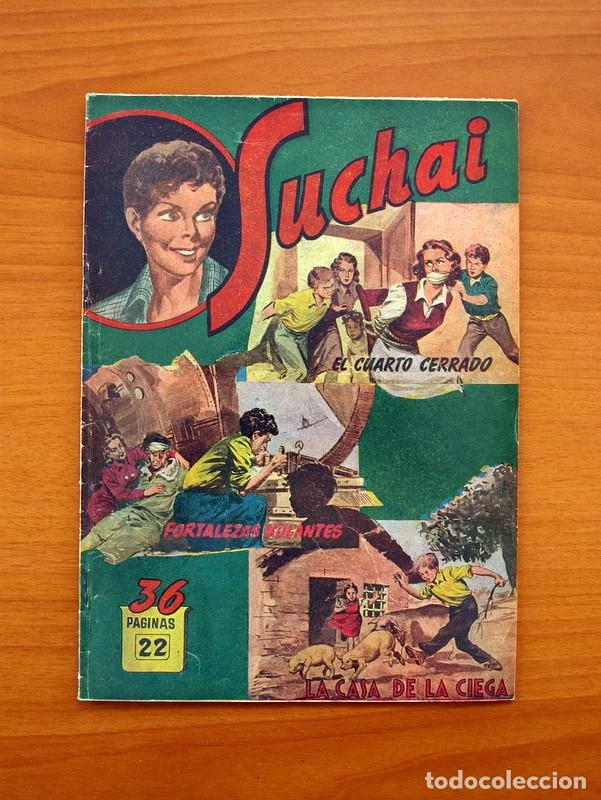 SUCHAI, Nº 22 - EDITORIAL HISPANO AMERICANA 1953 - TAMAÑO 24X17 (Tebeos y Comics - Hispano Americana - Suchai)
