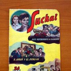 Tebeos: SUCHAI, Nº 14 - EDITORIAL HISPANO AMERICANA 1953 - TAMAÑO 24X17. Lote 98183131