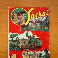 Tebeos: SUCHAI, Nº 9 - EDITORIAL HISPANO AMERICANA 1953 - TAMAÑO 24X17. Lote 98183191
