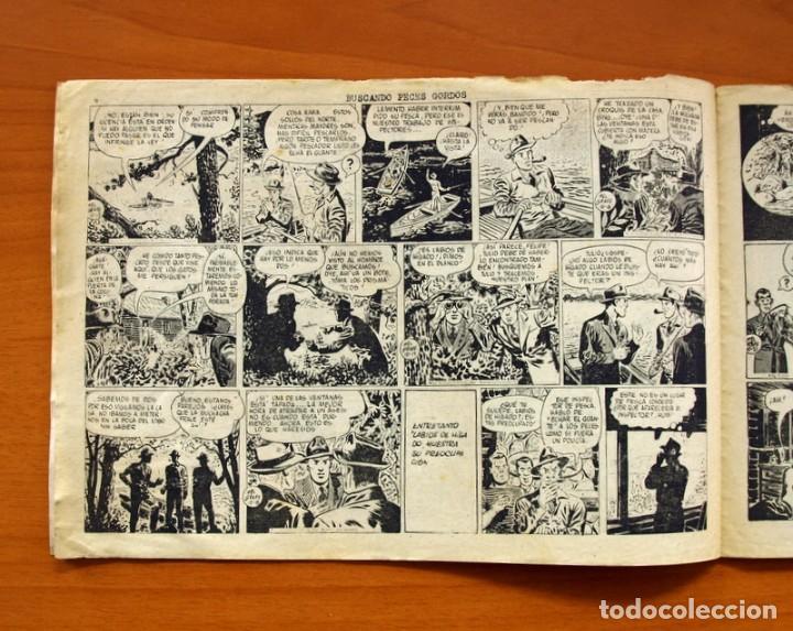 Tebeos: Agente Secreto, nº 13, Buscando peces gordos - Editorial Hispano Americana 1957 - Tamaño 17x24 - Foto 3 - 98184447