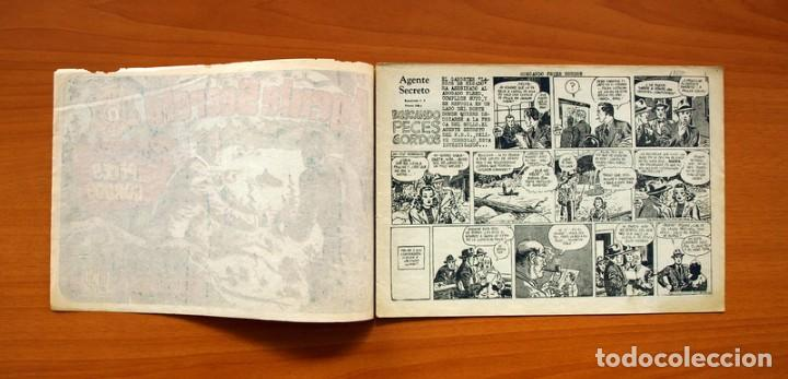 Tebeos: Agente Secreto, nº 13, Buscando peces gordos - Editorial Hispano Americana 1957 - Tamaño 17x24 - Foto 2 - 98184499
