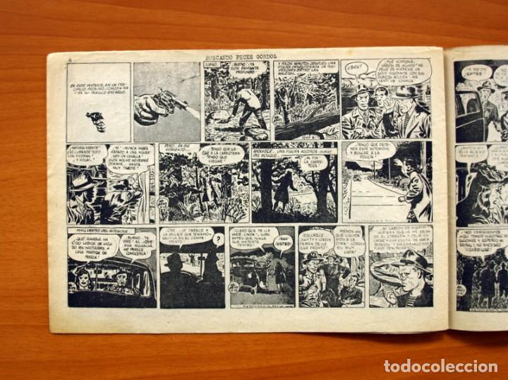 Tebeos: Agente Secreto, nº 13, Buscando peces gordos - Editorial Hispano Americana 1957 - Tamaño 17x24 - Foto 5 - 98184499
