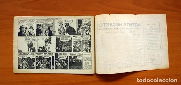 Tebeos: Agente Secreto, nº 13, Buscando peces gordos - Editorial Hispano Americana 1957 - Tamaño 17x24 - Foto 6 - 98184499