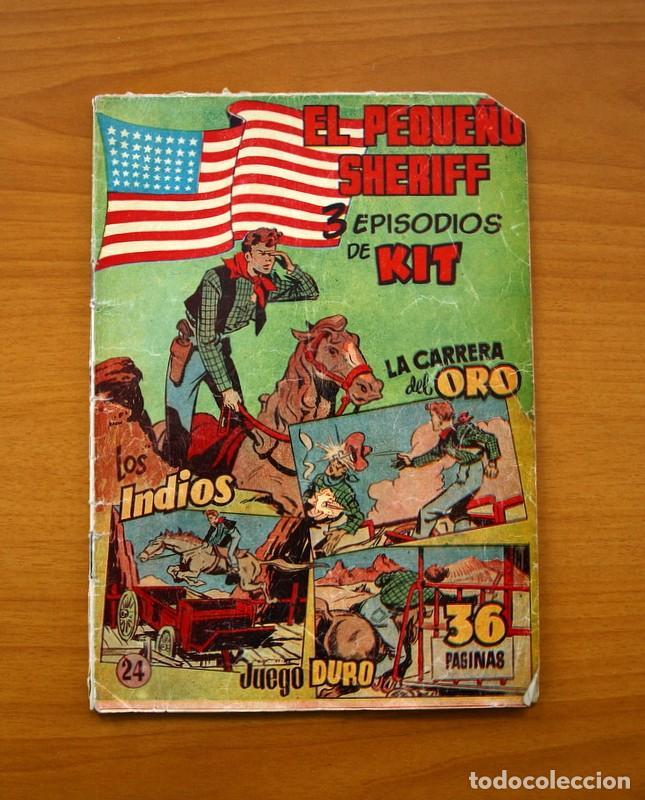 EL PEQUEÑO SHERIFF, Nº 24 - EDITORIAL HISPANO AMERICANA 1953 - TAMAÑO 24X17 (Tebeos y Comics - Hispano Americana - Otros)