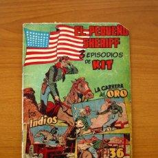 Tebeos: EL PEQUEÑO SHERIFF, Nº 24 - EDITORIAL HISPANO AMERICANA 1953 - TAMAÑO 24X17. Lote 98184699