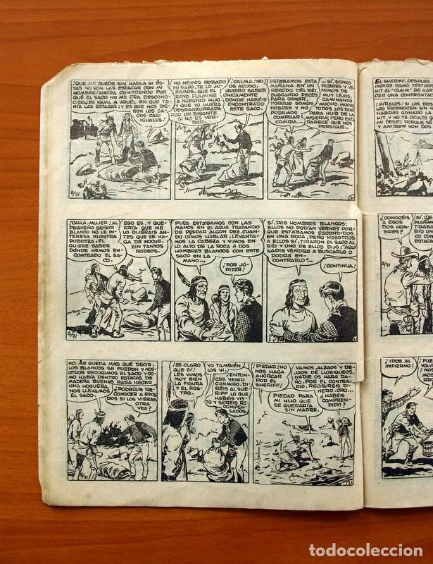 Tebeos: El pequeño sheriff, nº 24 - Editorial Hispano Americana 1953 - Tamaño 24x17 - Foto 5 - 98184699