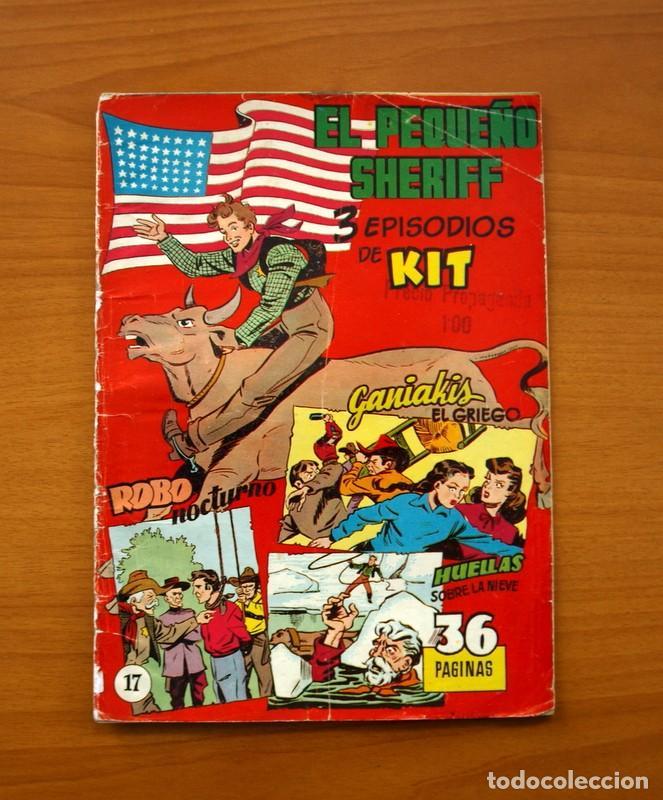 EL PEQUEÑO SHERIFF, Nº 17 - EDITORIAL HISPANO AMERICANA 1953 - TAMAÑO 24X17 (Tebeos y Comics - Hispano Americana - Otros)