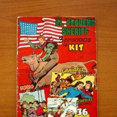 Tebeos: EL PEQUEÑO SHERIFF, Nº 17 - EDITORIAL HISPANO AMERICANA 1953 - TAMAÑO 24X17. Lote 98184727