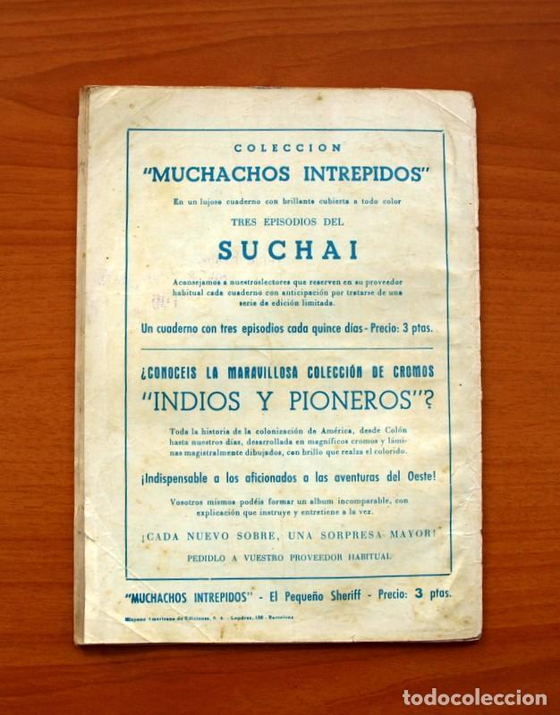 Tebeos: El pequeño sheriff, nº 17 - Editorial Hispano Americana 1953 - Tamaño 24x17 - Foto 7 - 98184727