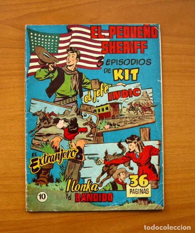 EL PEQUEÑO SHERIFF, Nº 10 - EDITORIAL HISPANO AMERICANA 1953 - TAMAÑO 24X17 (Tebeos y Comics - Hispano Americana - Otros)