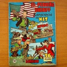 Tebeos: EL PEQUEÑO SHERIFF, Nº 10 - EDITORIAL HISPANO AMERICANA 1953 - TAMAÑO 24X17. Lote 98184771