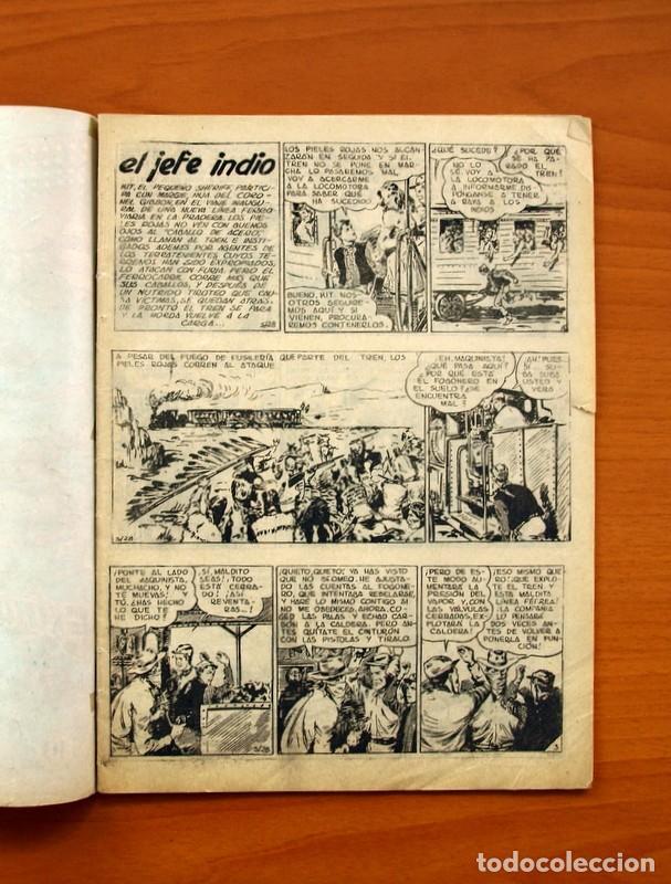 Tebeos: El pequeño sheriff, nº 10 - Editorial Hispano Americana 1953 - Tamaño 24x17 - Foto 2 - 98184771
