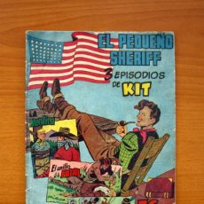Tebeos: EL PEQUEÑO SHERIFF, Nº 21 - EDITORIAL HISPANO AMERICANA 1953 - TAMAÑO 24X17. Lote 98184811