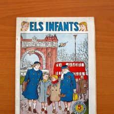 Tebeos: ELS INFANTS, ELS PRIMERS FREDS Nº 6 - EDITORIAL HISPANO AMERICANA 1956 - TAMAÑO 24X17. Lote 98211907