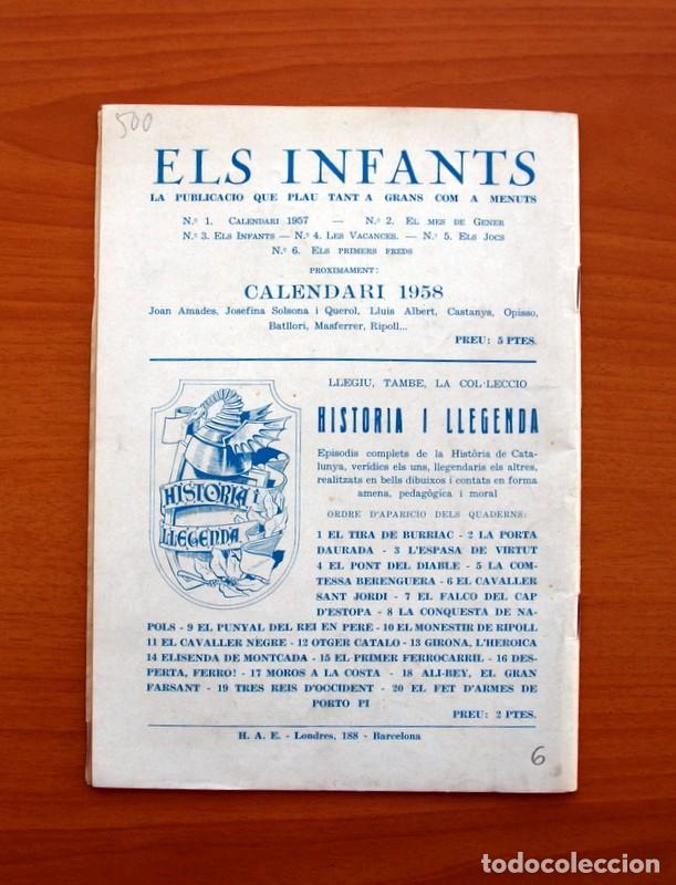 Tebeos: Els Infants, Els primers freds nº 6 - Editorial Hispano Americana 1956 - Tamaño 24x17 - Foto 7 - 98211907