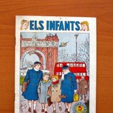 Tebeos: ELS INFANTS, ELS PRIMERS FREDS Nº 6 - EDITORIAL HISPANO AMERICANA 1956 - TAMAÑO 24X17. Lote 98212011