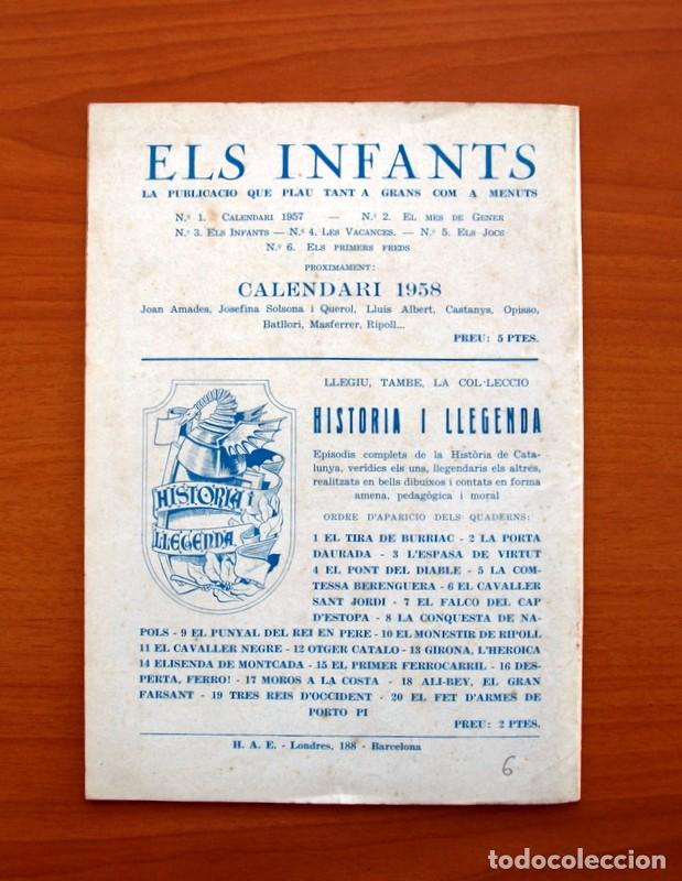 Tebeos: Els Infants, Els primers freds nº 6 - Editorial Hispano Americana 1956 - Tamaño 24x17 - Foto 7 - 98212011